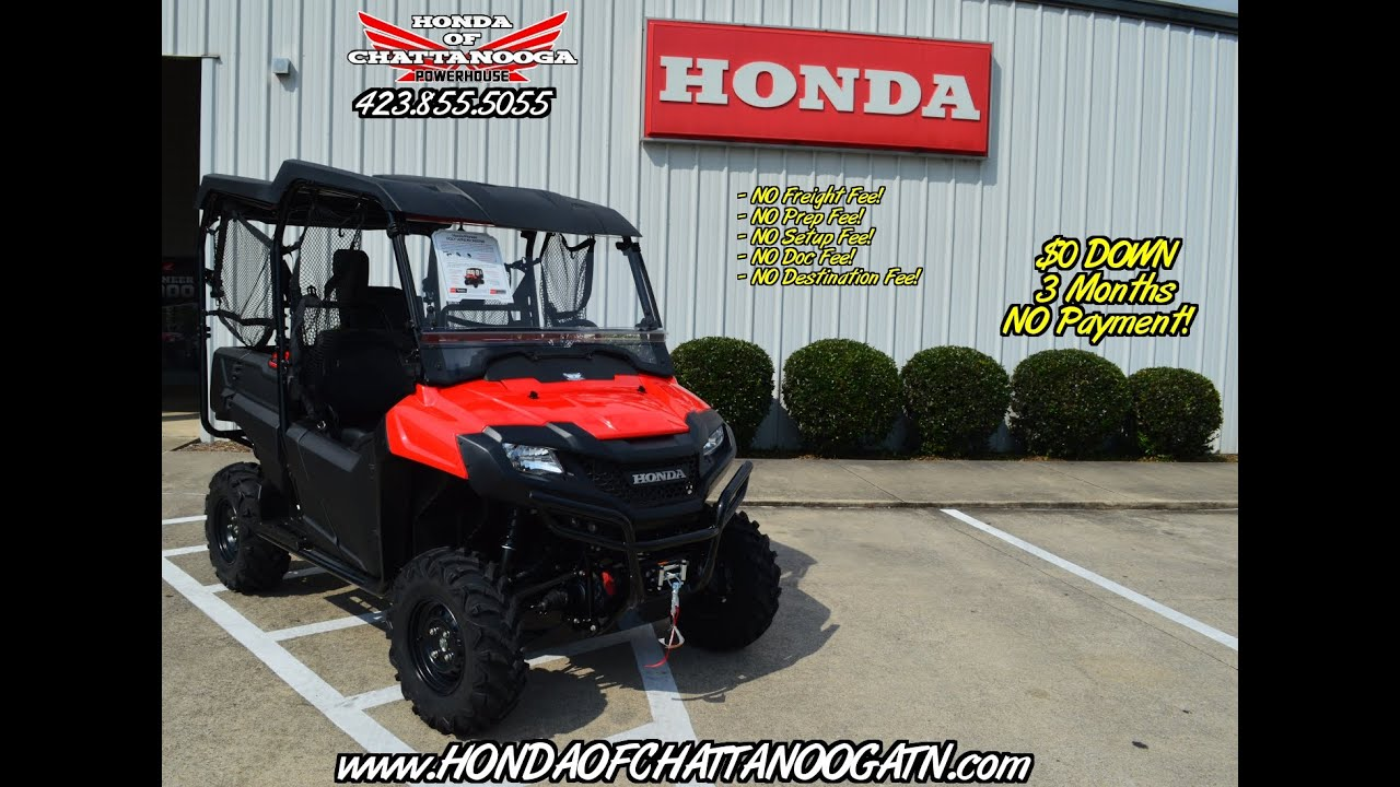 2016 Honda Pioneer 700 4 Accessories Top Windshield