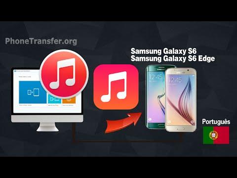 Como sincronizar com o iTunes Music Galaxy S6, Copy Playlist do iTunes para Samsung Galaxy S6 (Edge)
