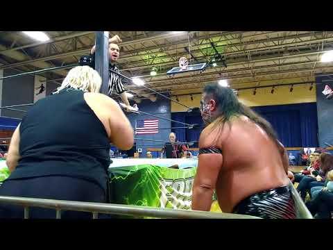 Rikishi versus Metal maniac in Bayonne New Jersey December 9th 2017.