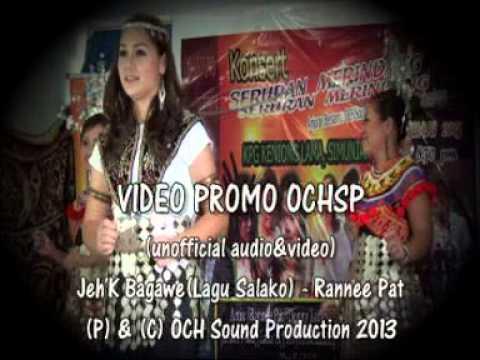 Rannee Pat -Jeh'k Bagawe (Lagu Gawai Salako)Promo Version