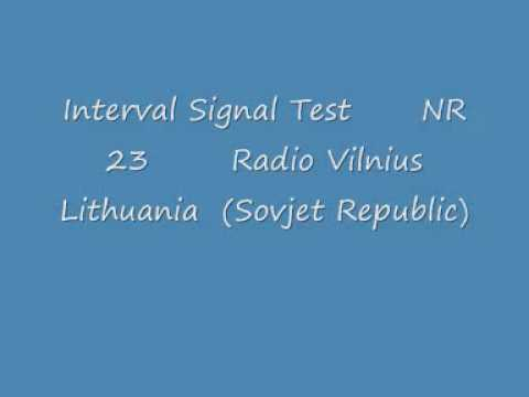 IS Test Nr.23, Radio Vilnius