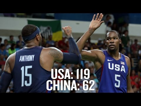 USA Basketball blows out China, wins 17th straight game | Rio Olympics 2016