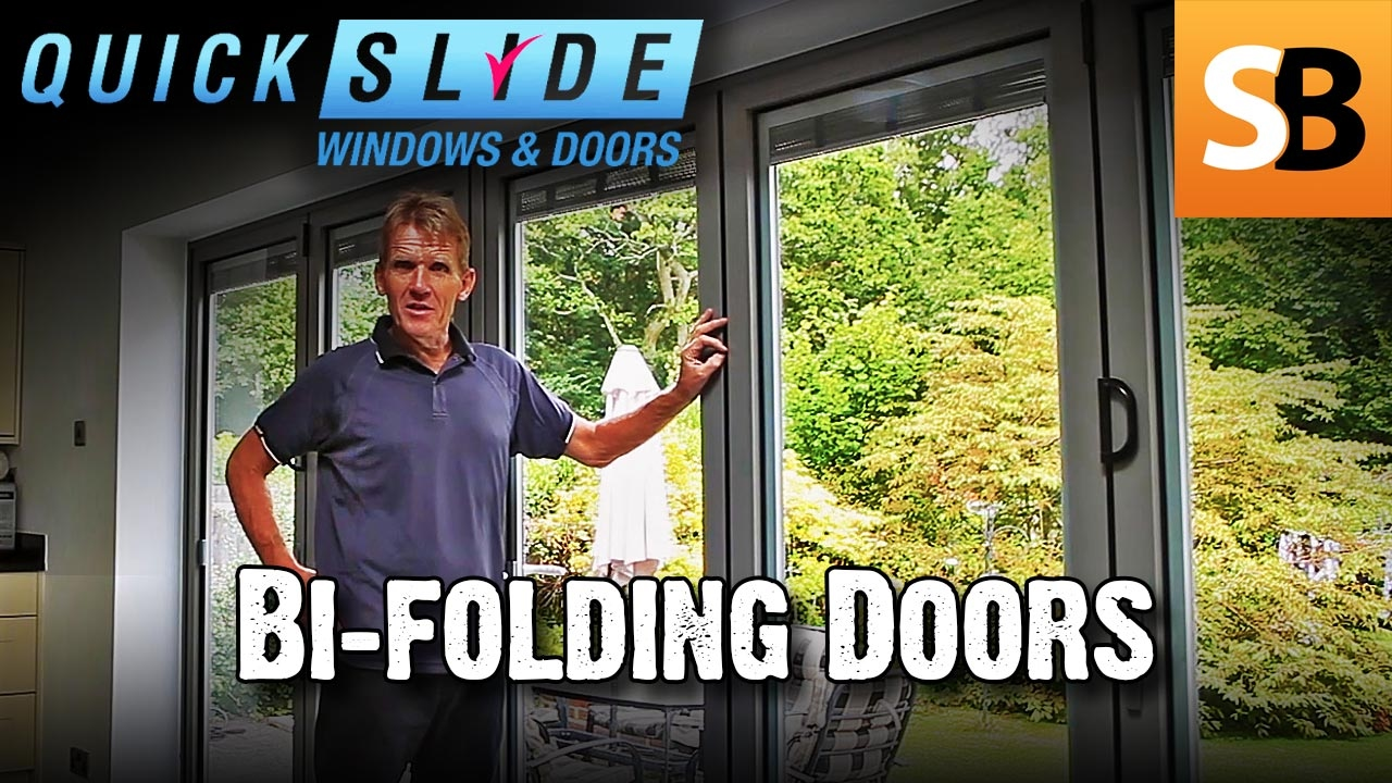 How to Install Bi-folding Doors with Quickslide Review  sc 1 st  YouTube & How to Install Bi-folding Doors with Quickslide Review - YouTube