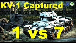 kv 1 captured 1vs7 medalowy wojownik wasze bitwy 41 ginst zabijaka wot xbox one ps4