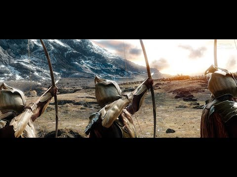 The Hobbit (2013) - Battle of the five Armies - Part 1 - Only Action [4K] (Directors Cut)