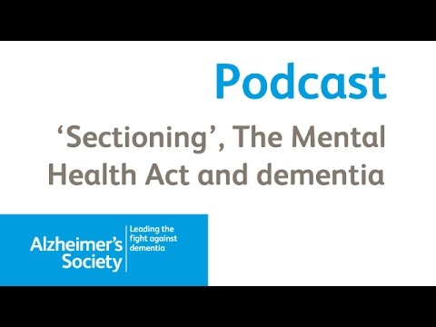 Dementia Sectioning And The Mental Health Act 1983 Alzheimer S
