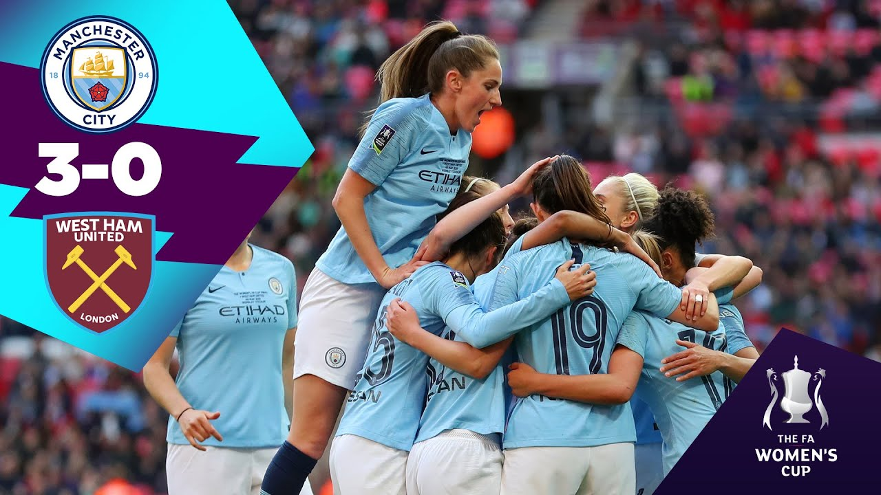 MAN CITY 3-0 WEST HAM HIGHLIGHTS | Women's FA Cup glory | On This Day 4th May 2019