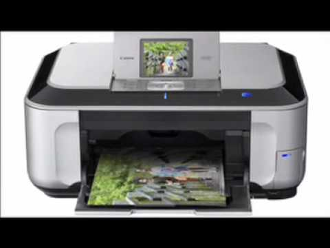Canon Pixma Mp490 Inkjet Photo All In One Printer Youtube