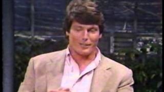 "Christopher Reeve ""Superman III"" Interview on Johnny Carson"