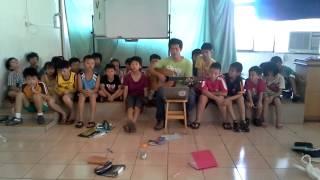 20130809康輔民歌教唱-當我遠颺-部分服務群社員