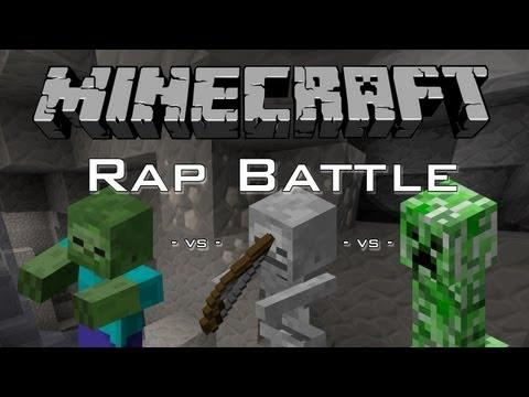 Zombie pigman vs wither skeleton minecraft rap battle from - Minecraft zombie vs creeper ...
