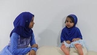 Cutie Fatima is reciting Surah Al-Masad with Maryam