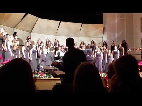 Emmaus high School Christmas concert, Women's Choir 2018