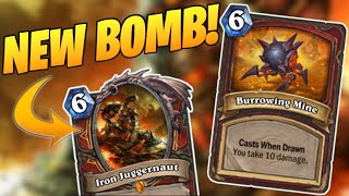 ALL THE BOMBS!   Bomb Warrior   Descent of Dragons   Galakrond's Awakening   Wild Hearthstone
