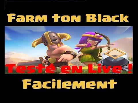 [COC] HDV9 FARM | LA COMPO SPECIALE ELIXIR NOIR | CLASH OF CLANS FRANCAIS