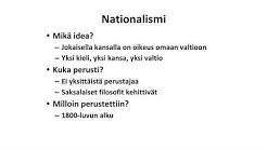 Nationalismi
