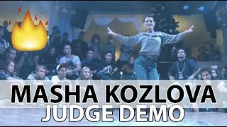 judge DEMO | MASHA KOZLOVA | BIG SIBERIAN JAM | 28 29 11 15 - #bboy #bgirl #breakdance