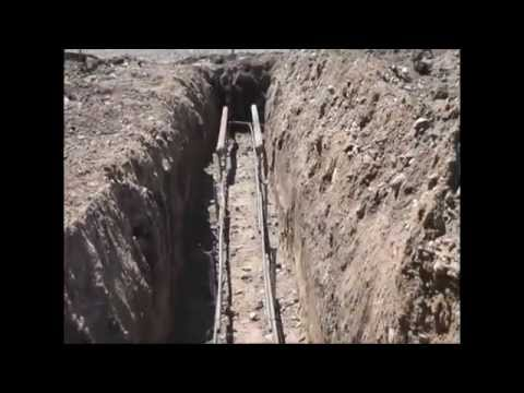 Another Way To Pour Concrete Footing Youtube