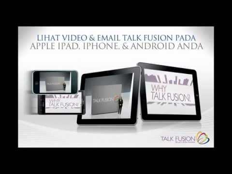 Presentasi Online - Talk Fusion Indonesia - 10 menit