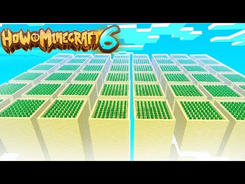 The BEST Minecraft 1.14 Auto Cactus Farm In H6M - How To Minecraft 1.14 SMP #8 | JeromeASF