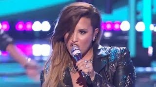 demi lovato canta i really don t care neon lights en american idol
