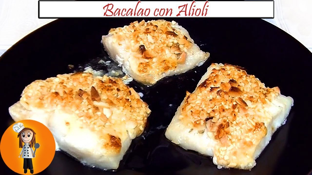 Bacalao Con Alioli Al Horno Receta De Cocina En Familia
