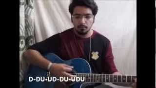 Pani Da Rang male version guitar lesson
