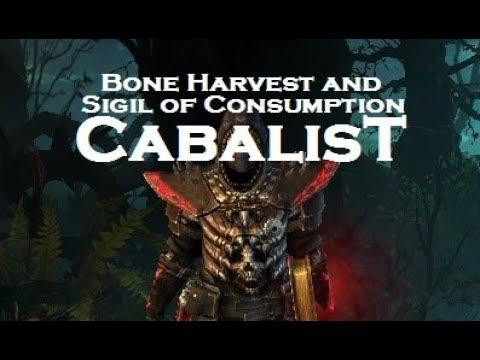 Vitality Cabalist (Necromancer + Occultist) [Grim Dawn]