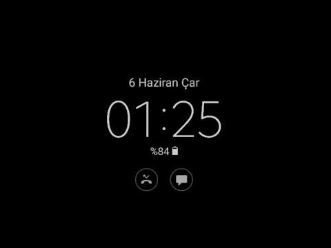 Always Ekran Kapalıyken Sürekli Açık Saat Nasil Yapılır  Always On Display Aç Kapat Takvim Samsung