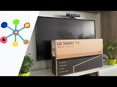 LG 28TL510S-PZ HD SMART LED TV-monitor