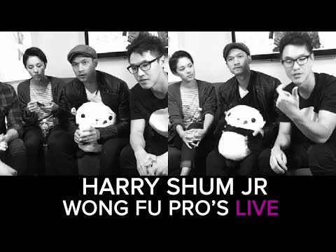 Wong Fu Pro's livestream with Harry Shum Jr, Kina Grannis, Eric Ochoa, Philip Wang and Wesley Chan