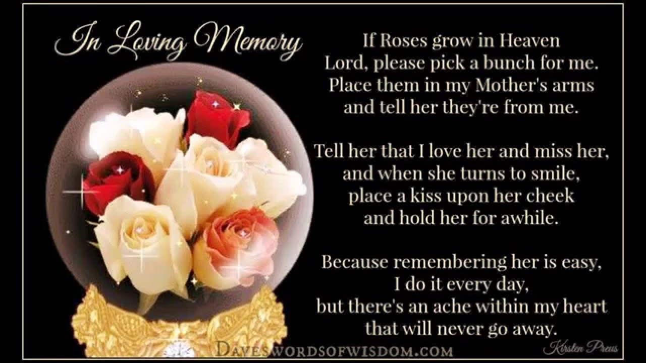 Missing My Mom In Heaven Quotes For My Mom In Heaven  Youtube