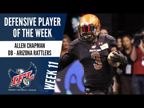 IFL Week 11 Defensive Player of the Week: Allen Chapman