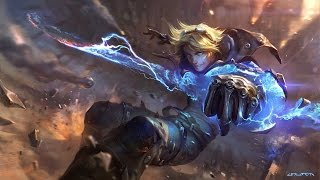 Ezreal login animation (unofficial)