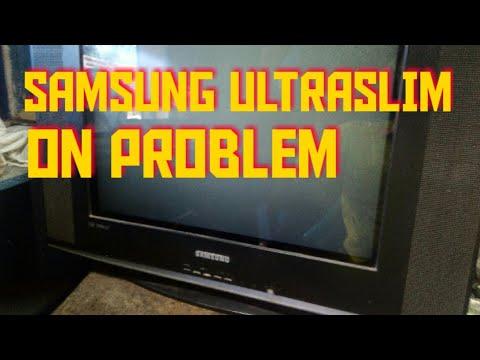 SAMSUNG ULTRA SLIM-LED- BLINKING.