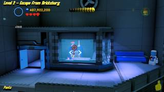 The Lego Movie Videogame:  Level 2 Escape from Bricksburg - FREE PLAY - (Pants & Gold Manuals) - HTG