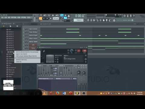 Saudi Ft. A Reece There She Go FL Studio remake using FL plugins and purity