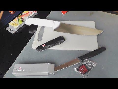 Ножи: Tramontina, Victorinox, про цены на ножи + мелочевка