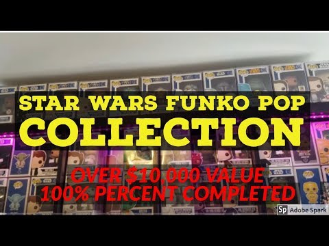 Star Wars Funko Pop Collection | Valued Over $10,000 Dollars