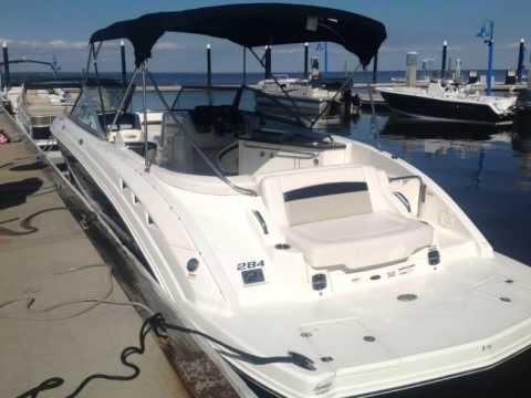 Chaparral 284 Sunesta Bowrider Deck Boat Youtube