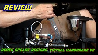 #Review# Derek Speare designs virtual hydraulic handbrake V2
