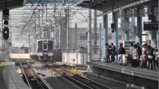 南海本線 泉大津駅の風景 通過列車編  2013年3月9日