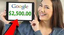 3 Stupidly Simple Ways To Make (GOOGLE MONEY) Online 2019!
