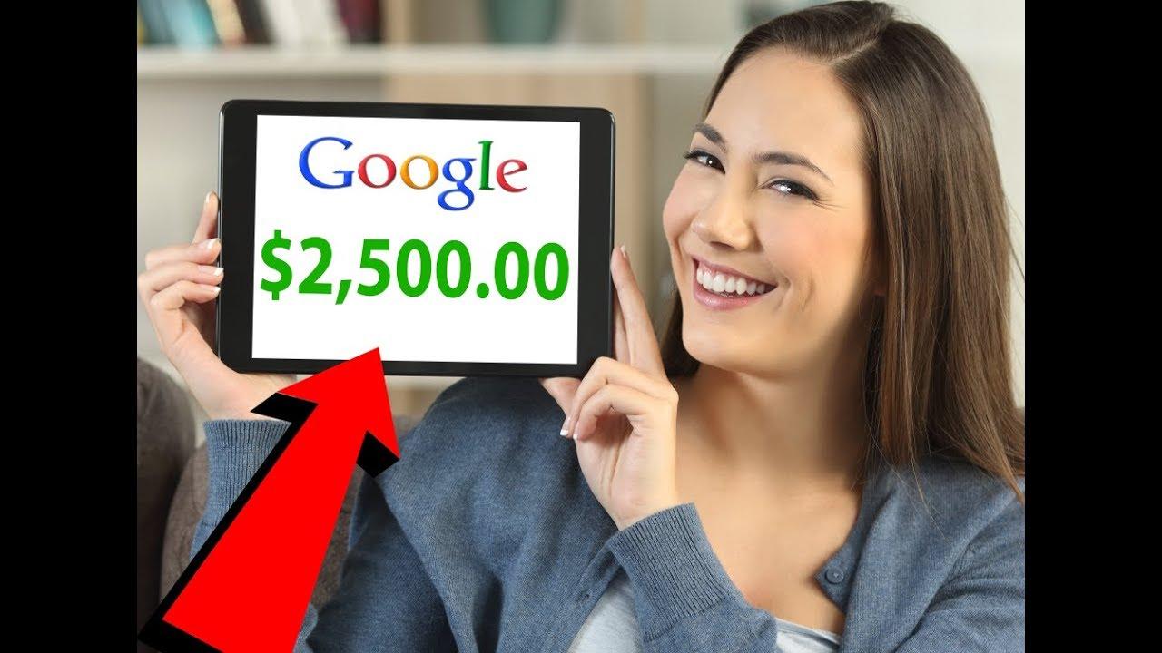 3 Stupidly Simple Ways To Make (GOOGLE MONEY) Online 2018!