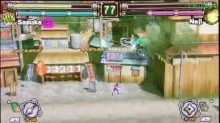 PPSSPP Setting for Naruto : Ultimate Ninja Heroes
