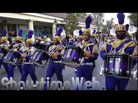 Bayou Classic Parade Marching Bands 2018