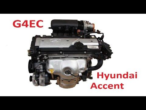 Краткий обзор двигателя Hyundai Accent - G4EC