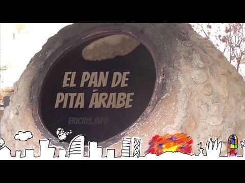 Pan de Pita árabe en Jordania  [Rumbo a Petra] [Jordania 2015]