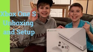 Xbox One S Unboxing and Setup
