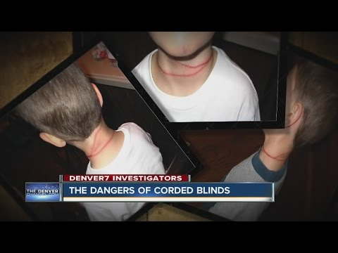 The dangers of corded blinds